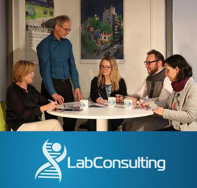 Team von LabConsulting in Wien/Österreich