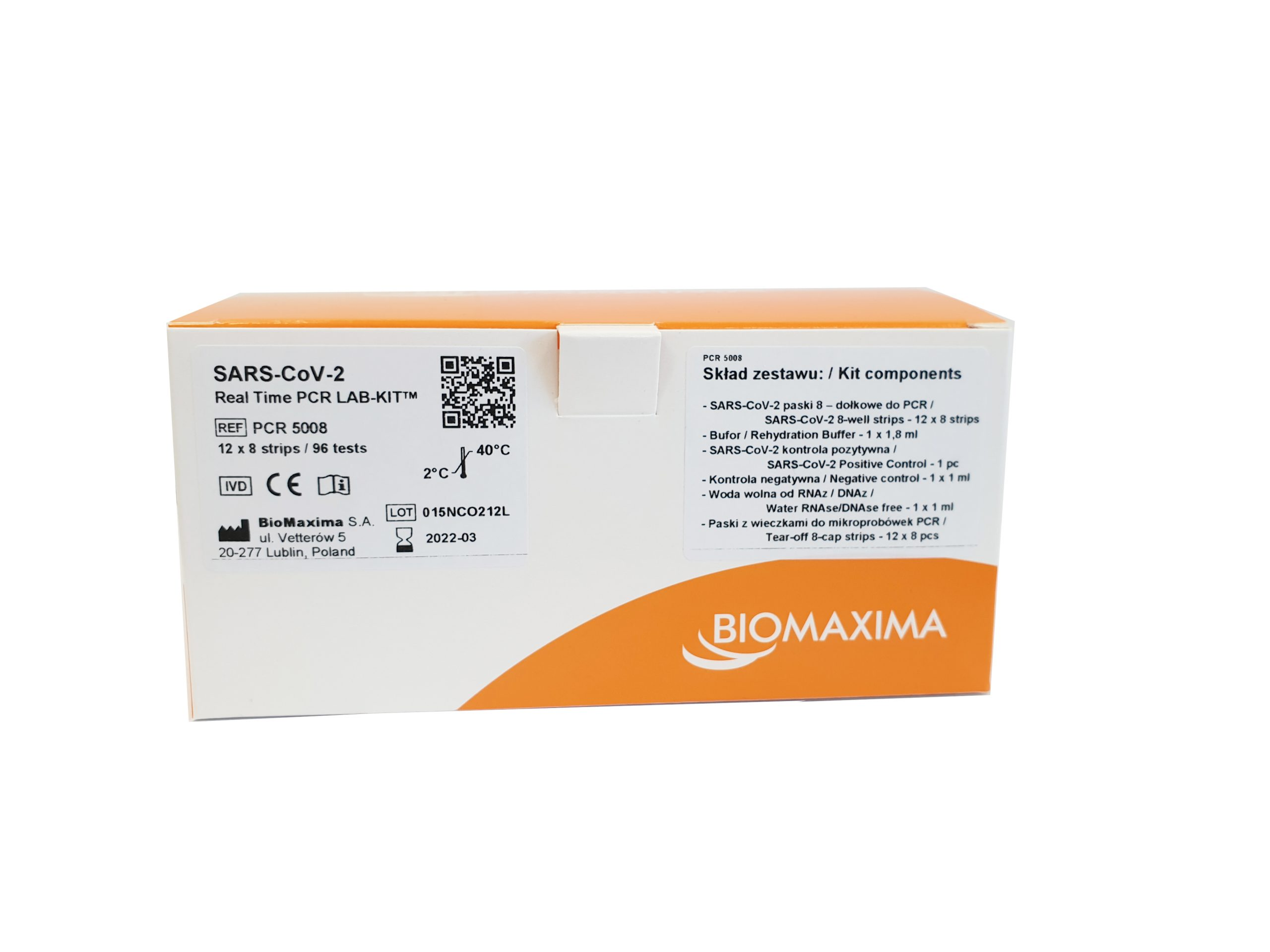 SARS-CoV-2 Real Time PCR LAB-KIT from BioMaxima at LabConsulting in Vienna / Austria