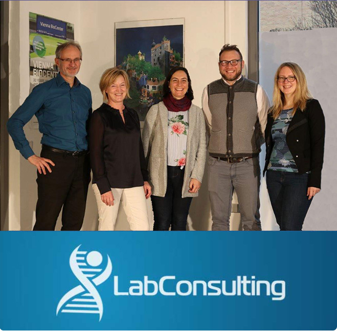 labConsulting Team in labShop at Vienna BioCenter
